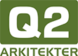 Q2 Arkitekter Logo